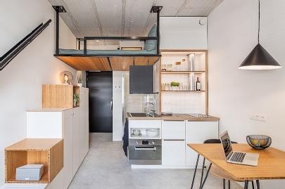Chính thức cho phép xây dựng căn hộ chung cư 25m2